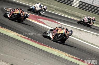 KTM la revelaión del mundial de Moto2. Foto: Lucas ADSC - VAVEL