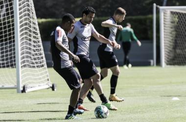 Com Fred e Robinho juntos, Rogério Micale define Atlético-MG para quartas de final contra Inter
