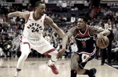 Toronto Raptors vs Washington Wizards | Foto: AP