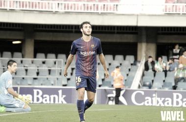 """Abel Ruiz: """"Estoy muy contento con la confianza que me ha dado el míster"""""""