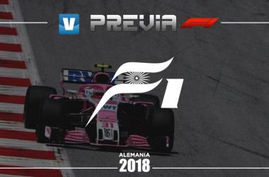 Previa de Force India en el GP de Alemania 2018 | Fotomontaje: Fanny Villaécija - VAVEL