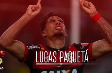 Meia de origem, Paquetá é destaque como centroavante no Flamengo de Rueda