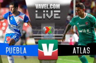 Resultado y goles del Puebla 1-2 Atlas de la Liga MX 2017