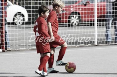 Nueva organización de técnicos en la Escuela de Fútbol de Mareo.   Imagen: Diego Blanco-VAVEL.