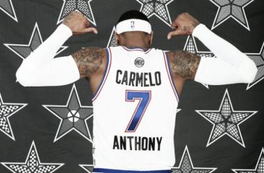 El premio a la constancia de Carmelo Anthony