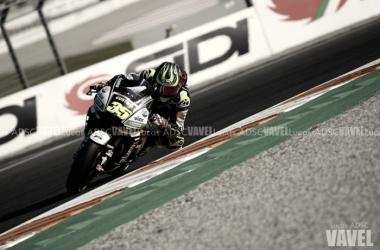 Cal Crutchlow en el GP de Valencia |Foto: Lucas ADSC (VAVEL)
