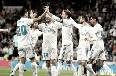 Real Madrid - Eibar: puntuaciones Real Madrid, jornada 9