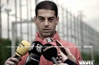 """Gerard López: """"Es donde nos toca estar siendo un equipo joven que acaba de subir"""""""
