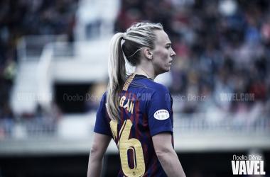 Toni Duggan en el partido de vuelta de las semifinales de la UEFA Women's Champions League 18/19 | Foto de Noelia Déniz, VAVEL