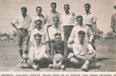 El América logró 4 títulos consecutivos en la década de los años veinte