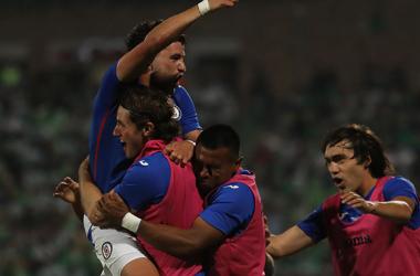 El estilo futbolístico del Cruz Azul dominó en la cancha del TSM y obtuvo su recompensa en jugada individual de Romo (Foto: Liga Mx)