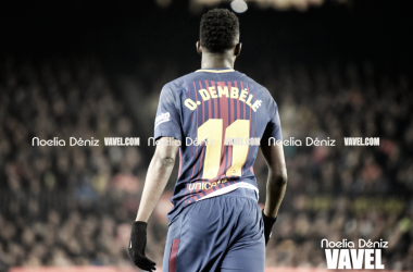 Ousmane Dembélé con el Fútbol Club Barcelona   Foto de Noelia Déniz, VAVEL