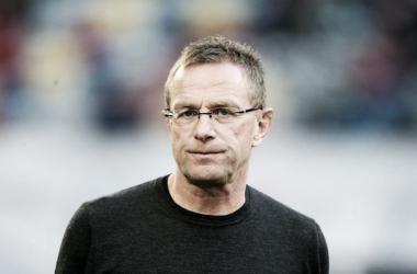 El estratega alemán confía en una victoria en el partido de vuelta. Foto: RB Leipzig