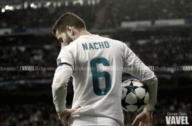 Nacho Fernández en un partido de Champions. Foto: Real Madrid Vavel