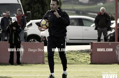 Baraja en uno de sus primeros entrenamientos. FOTO: Diego Blanco-VAVEL
