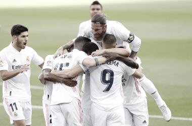 El Real Madrid acalla las críticas a base de latigazos (1-3)