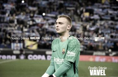 Cillessen con la camiseta del Barça   Foto: Noelia Déniz, VAVEL