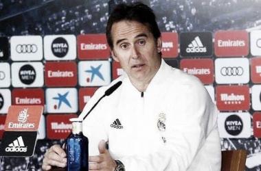 """Julen Lopetegui: """"La competencia de Courtois y Keylor no es un problema, sino dos magníficas soluciones"""". / Foto: Real Madrid"""