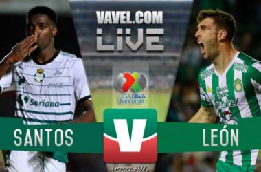 Partido Santos Laguna vs León en vivo online en Liga MX 2018