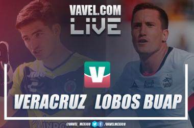 Resultado y goles del partido Veracruz 0-1 Lobos BUAP en Liga MX 2019