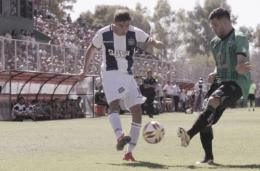 Talleres perdió en San Juan y no logró el objetivo