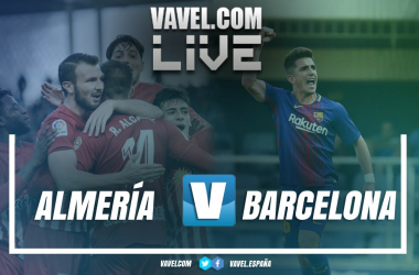 Resumen Almería 1-0 FC Barcelona B en LaLiga 1 2 3 2018