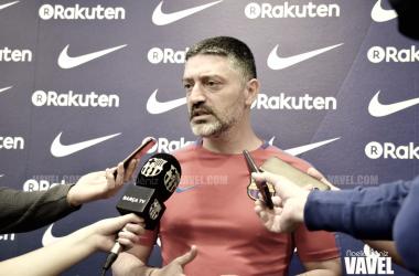 """García Pimienta: """"Jugando así, ganaremos la mayoría de veces"""""""