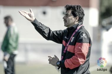 Míchel en un entrenamiento | LaLiga.es