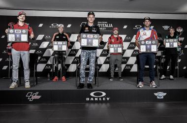 Rueda de prensa del Gran Premio Oakley de Italia 2021