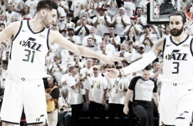 Mitchell decide no último quarto e Jazz evita varrida do Rockets pela NBA