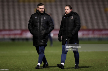 Mark Trueman and Conor Sellars appointed as the new joint managers of Bradford City