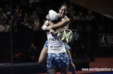 Abrazo de Gemma y Lucía / Foto: wpt