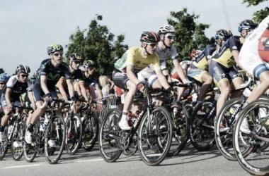 Los ciclistas en busca de coronarse en el país Suizo | Foto: Tour de Suisse