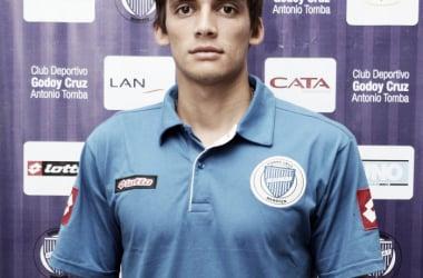 Juan Fernando Garro, sin demasiadas chances este semestre. (Foto: sitio oficial Godoy Cruz)