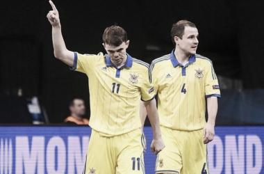 Ucrania saca brillo al fútbol sala