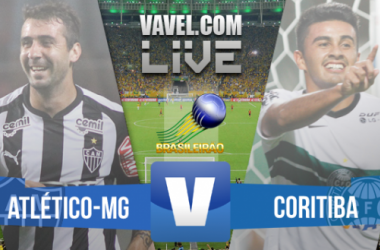 Resultado Atlético MG X Coritiba no Brasileirão (2-0)