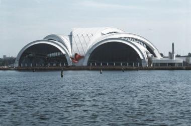 Imagen actual del Tatsumi Aquatic Center (Foto: kke.co.jp).