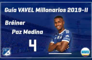Análisis VAVEL, Millonarios 2019-II: Breiner Paz