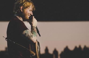 Ed Sheeran en concierto | Foto: Instagram Oficial de Ed Sheeran @teddysphotos