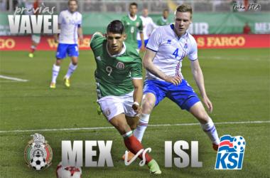 Previa México vs Islandia: Última reunión antes del Mundial