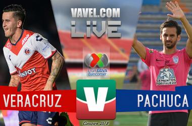 Resultado Veracruz 2-3 Pachuca en jornada 15 Liga MX