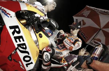 Dani Pedrosa durante el Gran Premio de Qatar | Foto: Mirco Lazzari