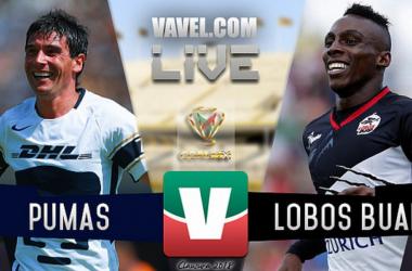 Pumas vs Lobos BUAP en vivo online en Copa MX 2018 (3-0)