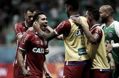 Edigar Junio volta a marcar, Bahia supera Náutico e abre vantagem no Grupo C do Nordestão