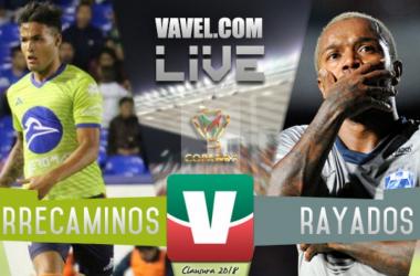 Resultado y goles del Correcaminos 2-3 Monterrey en Copa MX 2018