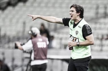 Técnico do Atlético-MG elogia peças-chave da equipe no empate contra o Ferroviário-CE (Foto: Bruno Cantini/ Atlético)