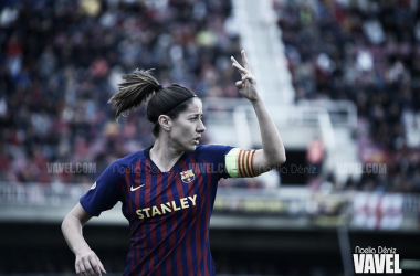 Vicky Losada, jugadora del FC Barcelona Femenino. FOTO: Noelia Déniz