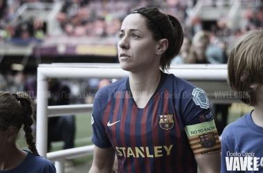 Vicky Losada, capitana del Barcelona y la Selección Española | Foto: Noelia Déniz (VAVEL)