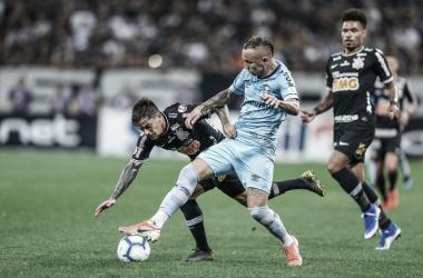 Grêmio enfrenta Corinthians de olho em vaga no G-4 do Brasileirão