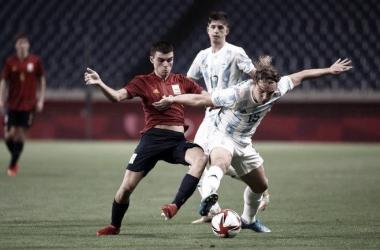 Argentina 1- España 1- SUB 23- TOKIO 2020